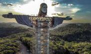 """ბრაზილიაში მაცხოვრის ახალ ქანდაკებას აშენებენ, რომელიც """"მხსნელ ქრისტეზე"""" მაღალი იქნება"""