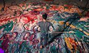 ბრიტანელმა ხელოვანმა თვითიზოლაციისას მსოფლიოში ყველაზე დიდი ნახატის შექმნა დაიწყო