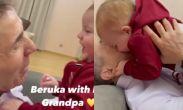 ვიდეო: ბიძინა ივანიშვილი პატარა ბერუკას ეთამაშება