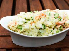 სამარხვო სალათი კარტოფილით