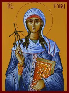 საქართველოს მართლმადიდებელი ეკლესია წმინდა ნინოს ხსენების დღეს აღნიშნავს