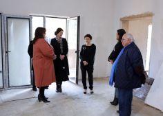 იუსტიციის მინისტრმა ნოტარიუსთა პალატის  ახალი ოფისის მშენებლობა დაათვალიერა
