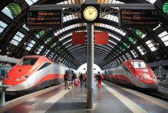 მეგობრების დაგვიანების გამო, ქართველმა მამაკაცმა იტალიაში 7-ვაგონიანი მატარებელი გააჩერა