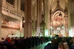 გია ყანჩელის ხსოვნას ვენის ეკლესიაში საშობაო კონცერტი მიუძღვნეს