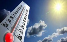 24 ივნისიდან 1-ელ ივლისამდე საქართველოში ჰაერის ტემპერატურამ შესაძლებელია 38 გრადუსს გადააჭარბოს