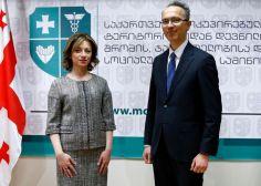 ჯანდაცვის მინისტრი იტალიის ელჩს შეხვდა